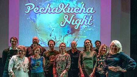 De eerste Pecha Kucha Night in Aan de Slinger