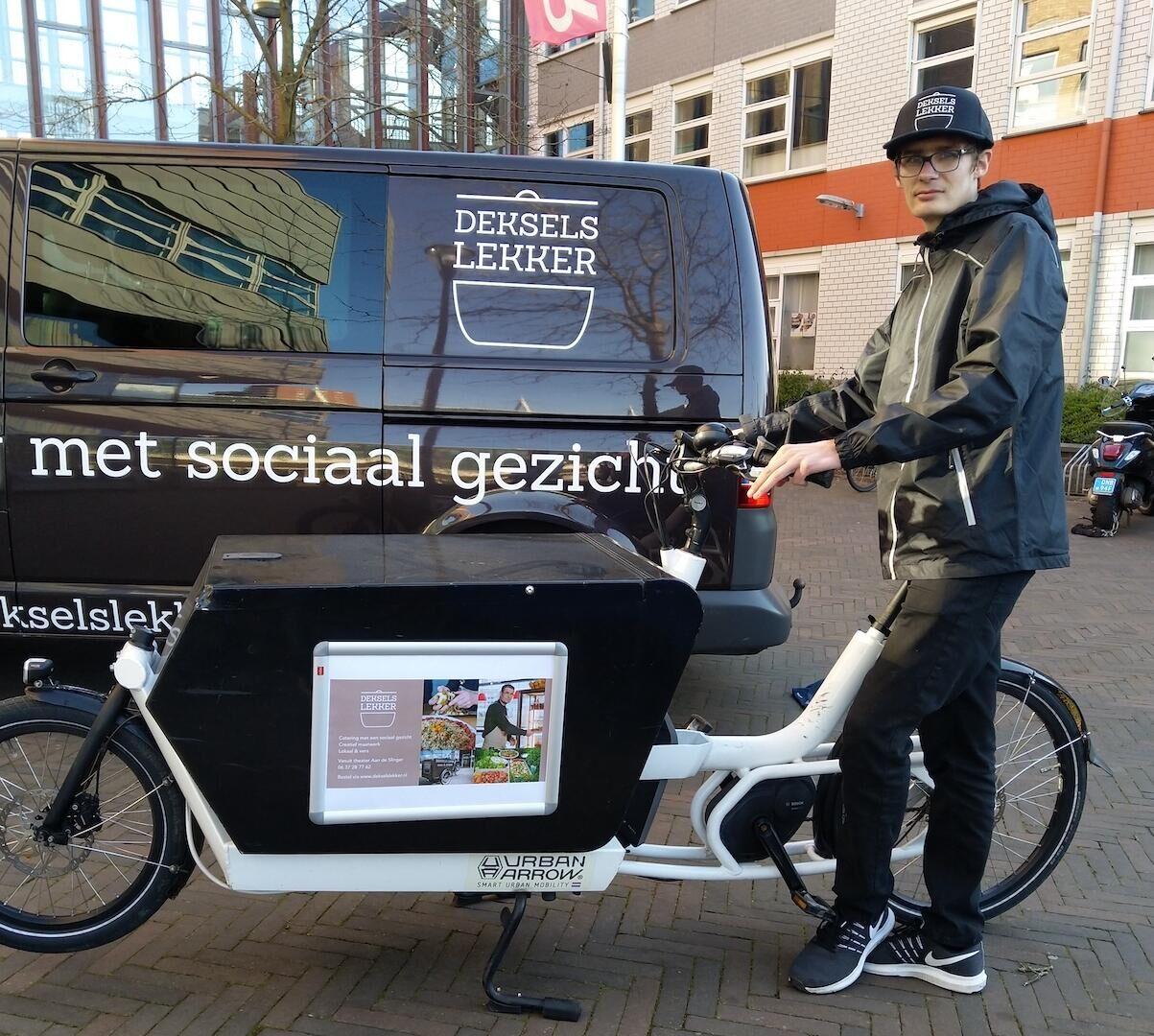 Deksels Lekker blijft open met bezorgdienst in Houten