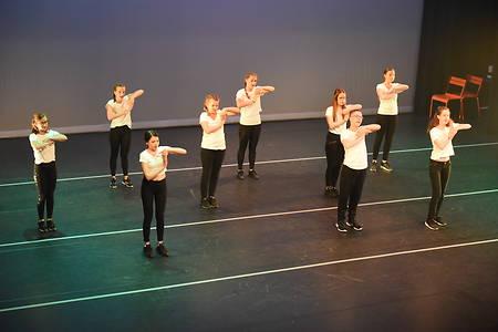 Eindvoorstelling dansschool DANSJA