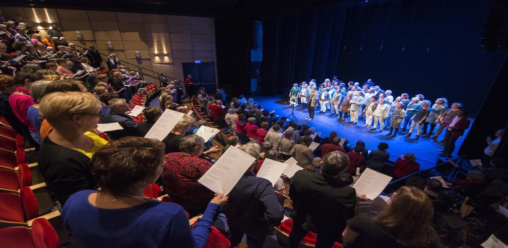 Inspirerende zangworkshops tijdens Korenfestival: zing mee!