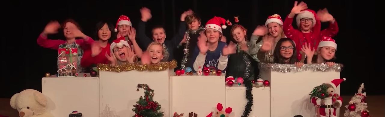 Kerstclip Jeugdtheaterschool
