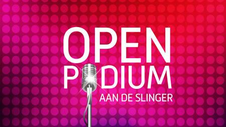 Open podium