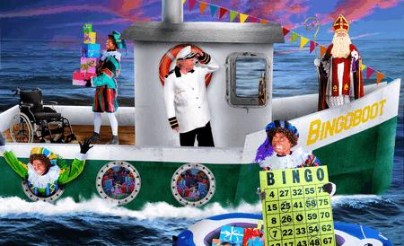 Sint & Piet: Vaar mee met de Bingoboot! 13:30 uur