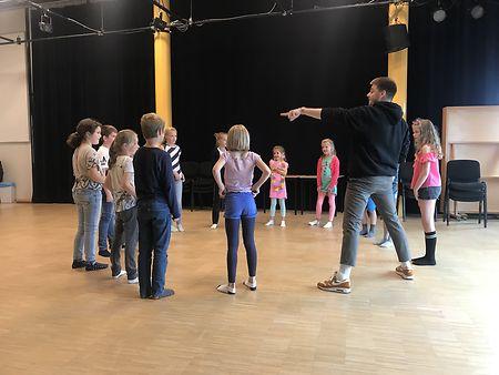 Start nieuw seizoen Jeugdtheaterschool Aan de Slinger