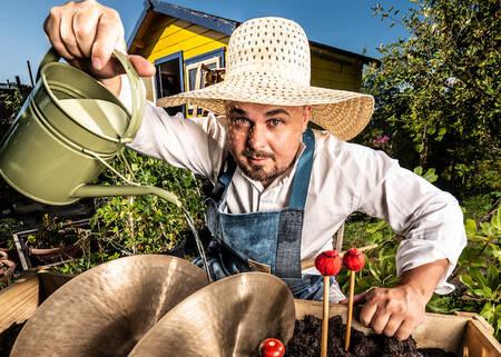 Tuinieren met Slagwerk