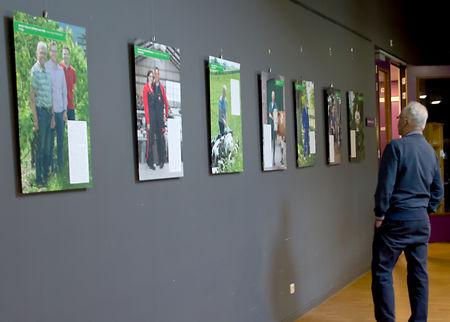 Wijkcentrum/Cultuurhuis Schoneveld toont portretten Houtense boeren