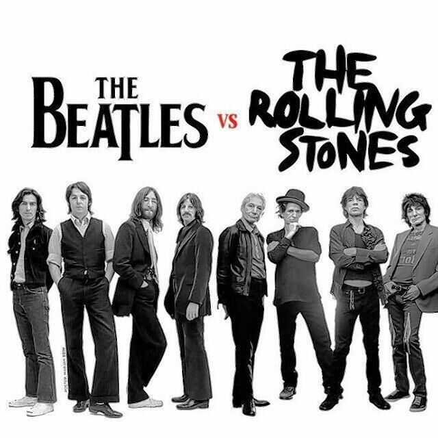 Zangcafe 23 nov: The Beatles en The Rolling Stones!